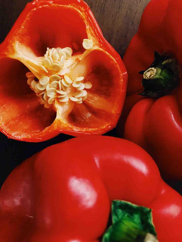 Quel légume associer aux poivrons ?